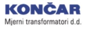 Končar mjerni transformatori